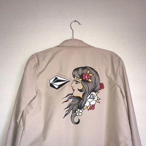 Volcom Beige Jacket
